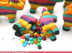 Pinata Cookies...cool!