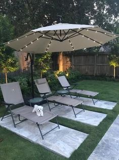 Hampton Bay 11 ft. LED Round Offset Outdoor Patio Umbrella in Chili Red YJAF052 - The Home Depot | 1000 Backyard Seating, Backyard Patio Designs, Small Backyard Landscaping, Small Backyard Design, Landscaping Ideas, Backyard Decorations, Large Backyard, Backyard Projects, Diy Patio