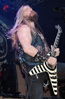 Zakk Wylde was born in Bayonne, New Jersey. He started playing the guitar at the age of 8, but didn't become serious about it until his first year in high school. At the age of 14 he worked at Silverton Music in the Silverton section of Toms River, New Jersey. Wielandt grew up in Jackson, New Jersey, and went to Jackson Memorial High School, where he graduated in 1985. Best known as the former guitarist for Ozzy Osbourne, and founder of the heavy metal band Black Label Society.