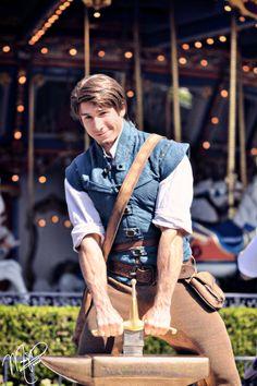 Flynn Rider look alike Disney Boys, Disney Parks, Walt Disney World, Punk Disney, Disney Tangled, Disney Magic, Princess Disney, Disney Princesses, Disney Face Characters