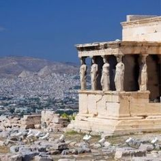 Discover Attica: beautiful beaches, culinary delights, history, culture and the historic centre of Athens create the ideal city break. Pool Bar, Attica Greece, Athens Greece, Athens City, Athens Acropolis, Ancient Greek Architecture, Classical Architecture, Open Air, World Heritage Sites