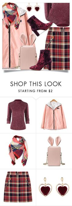 """""""Neck velvet long top"""" by dzenanlevic99 ❤ liked on Polyvore featuring rag & bone and Alexandre Birman"""