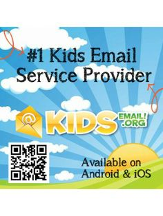 #1 email program for kids. Works on Android and iOS. Safe.