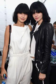 Kendall Jenner and Gigi Hadid Go Makeup-Free on Marc Jacobs Runway