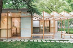 Linehouse was commissioned to create a new branded architectural language for 甘其食BAOBAO, the first of many stores to line the streets of China and the US, se...