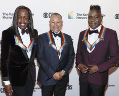 Earth, Wind & Fire, one of our favorite feel-good bands, made history on Sunday as the first Black group to get inducted into the Kennedy Center Honors. Songs About Fire, Cedric The Entertainer, Kevin Kline, American Group, Earth Wind & Fire, Linda Ronstadt, Ll Cool J, Thomas Rhett, Country Artists