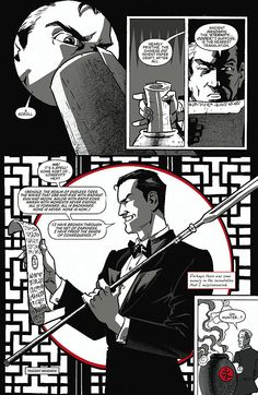 Preview: Grendel Vs. The Shadow #1, Page 6 of 10 - Comic Book Resources