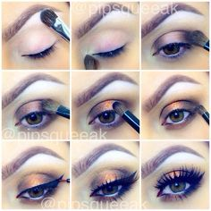 .@April Lopes | Here is the step by step pictorial for the look I just posted! 1- start by a... | Webstagram - the best Instagram viewer