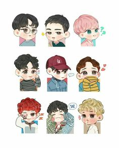 I lov lucky one fanart exo chen, exo kokobop, exo kai, baekhyun fanart, kpo Chibi Exo, Naruto Chibi, Chibi Manga, Kpop Exo, Exo Kokobop, Exo Chen, Exo Kai, Baekhyun Fanart, Kpop Fanart