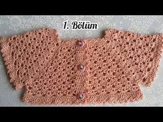 BAYRAM ŞEKERİ ROBALI ELBİSE / 1. BÖLÜM - YouTube Knitted Doll Patterns, Knitted Dolls, Knitting Patterns, Crochet Patterns, Bonbon Halloween, Crochet Videos, Kind Mode, Baby Dress, Crochet Baby