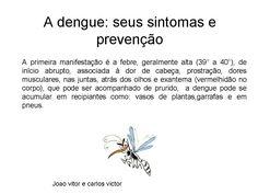 o que dengue e seus sintomas de diabetes