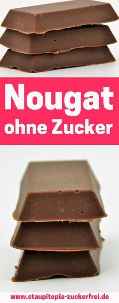 Nougat without sugar - Low Carb - Protein Low Carb Protein Bars, Protein Bar Recipes, Protein Cake, Eating Once A Day, Real Food Recipes, Dessert Recipes, Calories In Vegetables, Low Carb Biscuit, Diet