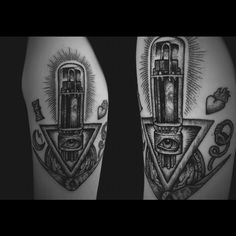 Valve tattoo. Made in London by Mister Paterson