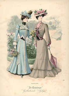 1901 Walking Suits ~ The Netherlands, De Gracieuse
