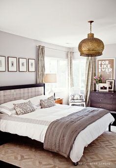 Marquis Rug + Frayed Edge Quilt from west elm