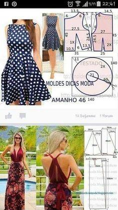 Maxi Dress Sewing PDF Pattern - Womens Maxi Dress Pattern - Maxi Dress patterns for Women Skirt Patterns Sewing, Clothing Patterns, Pattern Sewing, Diy Clothing, Sewing Clothes, Fashion Sewing, Diy Fashion, Moda Fashion, Fashion Details