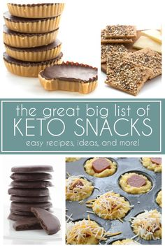 More than 85 keto snack recipes and ideas, so you never have to go hungry on your low carb, high fat diet #keto #ketodiet #ketosnacks #ketorecipes via @dreamaboutfood