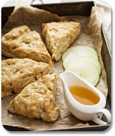 Our Irish apple scone recipe will please your Irish tastebuds. Our Irish apple scone recipe will please your Irish tastebuds. Here are information and instructions for bringing this delicious Irish dessert into your world! Apple Recipes, Baking Recipes, Scone Recipes, Speggetti Recipes, Fennel Recipes, Apple Dessert Recipes, Coffee Recipes, Apple Scones, Apple Cinnamon Scones Recipe