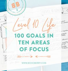 I can't even begin to tell you how many questions I have received about this Level 10 Life spread in my Bullet Journal. Are you living your Level 10 Life?