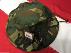 Boonie Hat adjustable woodland camo hunting survival tactical gear Rothco 52558
