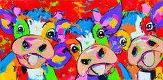 Afbeeldingsresultaat voor liz schilderijen koeien