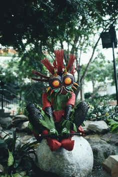 The most EPIC Majora's Mask cosplay I've ever seen!