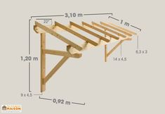 Awning for garage door in fir 1 tray When historical throughout principle, a pergola continues Awning Over Door, Door Overhang, Porch Awning, Porch Canopy, Diy Awning, Metal Awning, Window Canopy, Porch Roof, Diy Porch