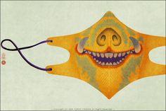 Surgical mask design by Yoriko Yoshida