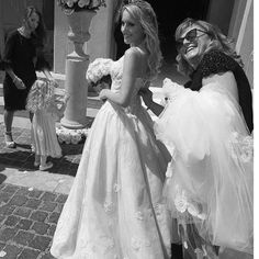 Marta, you are so gorgeous in your wedding gown! Dress: ALICE IN EVERLAND  Thanks to ATELIER ZUCCHETTO