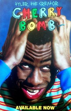 Tyler the Creator Cherry Bomb Hip Hop 2015 Album Cover Poster Collage Mural, Bedroom Wall Collage, Photo Wall Collage, Art Mural, Picture Wall, Room Posters, Band Posters, Poster Wall, Poster Prints