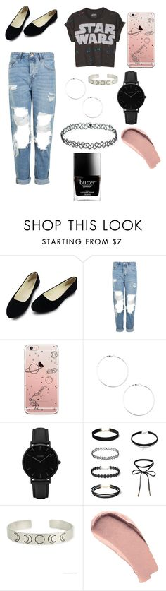 """""""School part 4"""" by kayleighmw on Polyvore featuring Topshop, CLUSE, Burberry and Butter London"""
