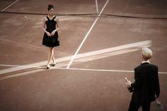 BHLDN Black-Tie Dress, $465.00