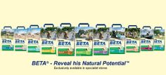 Beta Dog Food. For Specialist Retailers. Complete dog food. Good range to suit every lifestage. Stocked in Clevedon & Nailsea Aarons Pets.