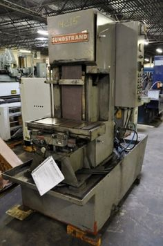 "10"" SUNSTRAND VERTICAL PRODUCTION BELT GRINDER"