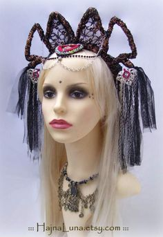 Tribal Fusion Headdress  by HajnaLuna #tribalfusion #headdress