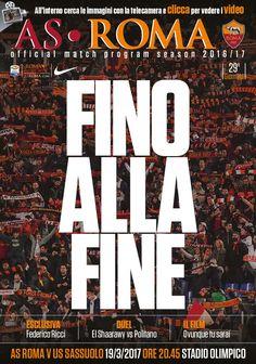 Avviciniamoci alla sfida di domenica sera contro il Sassuolo attraverso le pagine del nostro Match Program