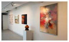 Eelco Maan I lyrical abstract paintings I Zandvoorts Museum I Abstractie in Nederland anno 2015
