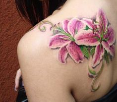 Tattoo Artist - Anabi Tattoo - Flowers tattoo