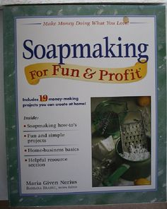 Soap Making for Fun and Profit by Crickettes on Etsy, $8.00