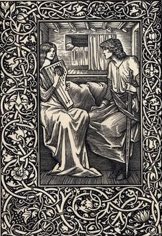 The story of Tristan and Iseult, rendered into English from the German of Gottfried von Strassburg by Jessie L. Weston, with designs by Caroline Watts