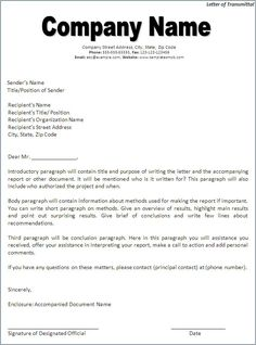 Get Yout Letter Of Transmittal Proposal To Be Impeccable By