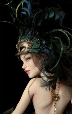 Venetian Courtesan - Nicole West Fantasy Art  (doll maker)