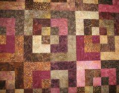 Batik quilt, pattern idea for Mom's quilt