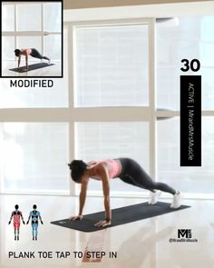 Fitness Workouts, Full Body Hiit Workout, Gym Workout Videos, Gym Workout For Beginners, Fitness Workout For Women, At Home Workouts, Workout Plans, Workout Routines, Woman Workout