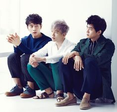 2PM for High Cut Magazine |126 2014.05.22~06.09.  Chansung. Junho. Taecyeon