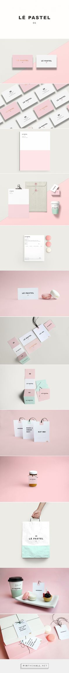 Lé Pastel Pastry Shop Branding by Claudia Argueta | Fivestar Branding Agency – Design and Branding Agency & Curated Inspiration Gallery