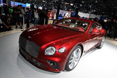 Bentley Continental GT live photos: 2017 Frankfurt Auto Show Bentley Motors, Kelley Blue, Bentley Continental Gt, Blue Books, Luxury, Live Photos, Vehicles, Car, Frankfurt