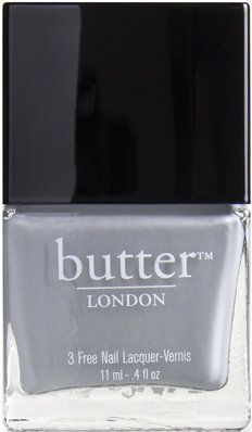 Gray is the big nail color this fall and winter. LONDON butter has an all natural lacquer line so you can look good and feel good. Billy No Mates Nail Lacquer $15. Great gift for a girlfriend or as a stocking stuffer.