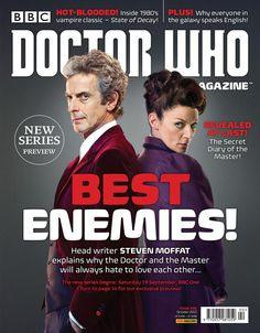 There's a new issue of Doctor Who Magazine published this Thursday (20 August). Here's a look at the front cover!