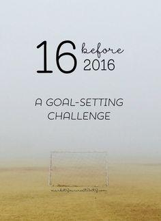 16 Before 2016: A Goal Setting Challenge on Marketing Creativity at www.marketyourcreativity.com